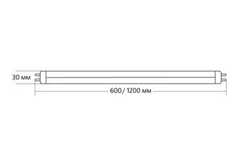 LED T8 (G13) 10ВТ 6500K
