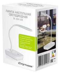 Светодиодная настольная лампа с эргономичным гибким регулируемым держателем СПУТНИК DL 324 LED